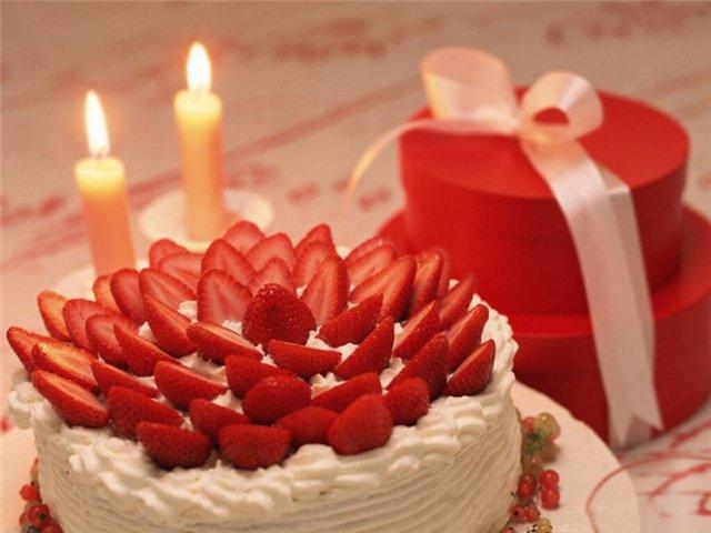 Открытки с тортиками на день рождения